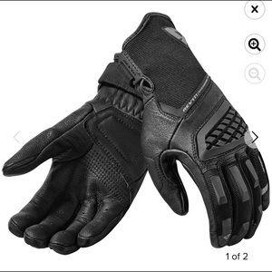 EUC Rev' It Leather Motorcycle Gloves Women's Lrg